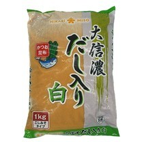 DAISHINANO SHIRO MISO 1KG มิโซะญี่ปุ่น (ขาว) 1กก.