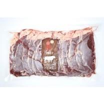 Carne Meats Raw AUS FZ SLICED A STRIPLOIN 1 KG.