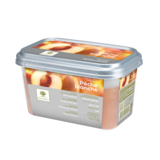 Ravifruit FZ Puree Peach white 1kg. (Imported)