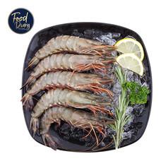 Frozen Raw Whole Black Tiger Shrimp Head On 8/12