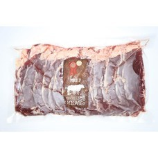 Carne Meats Raw AUS FZ SLICED A STRIPLOIN 1 KG.
