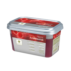 Ravifruit FZ Puree Raspberry (sweetened 10%) 1kg.