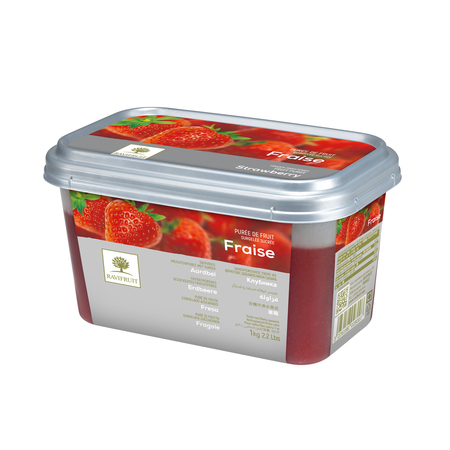 Ravifruit FZ Puree Strawberry (sweetened 10%) 1kg. (Imported)