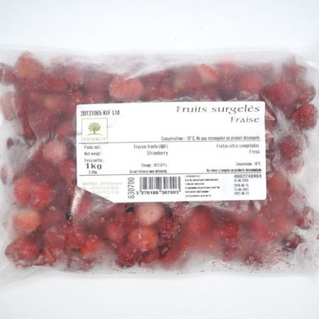 Ravifruit FZ IQF Strawberry - Senga Sengana 1kg. (Imported)