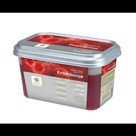 Ravifruit FZ Puree Raspberry (sweetened 10%) 1kg.