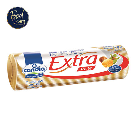CANDIA PROFESSIONNEL 82% GOURMET EXTRA TASTE BUTTER ROLL