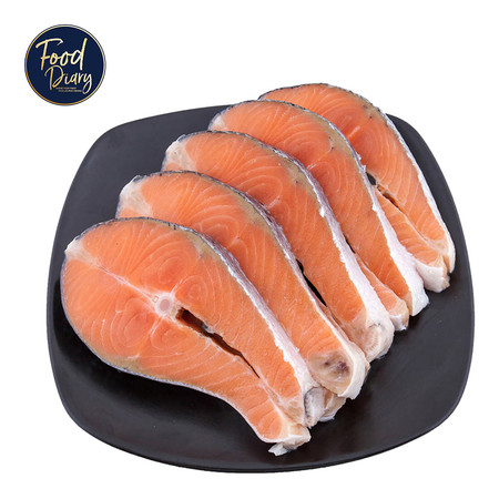 Salmon Steak 200 g. x 5 pieces
