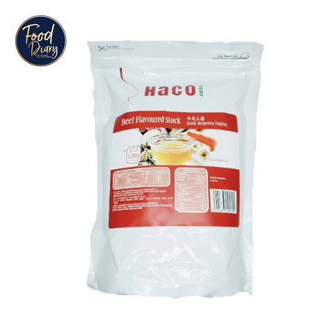 Haco Beef Flavoured Stock 1200 g.
