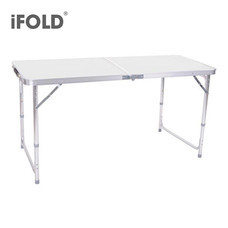 iFOLD โต๊ะพับอเนกประสงค์ รุ่น Circle - สีเทา