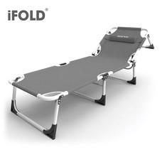 iFOLD เตียงสนามพับได้ 4 ขา รุ่น Bluefin CI-0152 - สีเทา