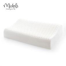 MICHELS หมอนยางพาราแท้ 100% หุ้มผ้า Tencel รุ่น WAVY