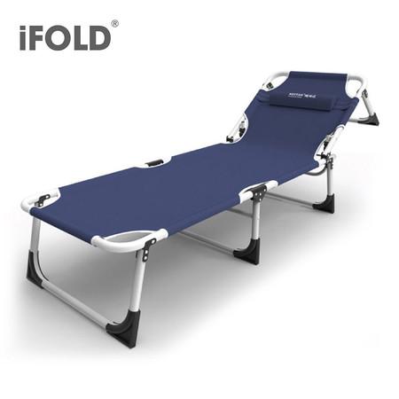 iFOLD เตียงสนามพับได้ 4 ขา รุ่น Bluefin CI-0152 - สีน้ำเงินเข้ม