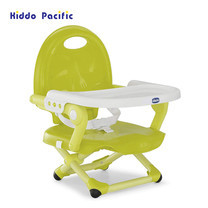 Chicco เก้าอี้ทานข้าวสำหรับเด็ก Pocket Snack Booster Seat - Lime