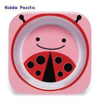 Skip Hop ชามดีไซน์น่ารัก Zoo Bowl Ladybug Style