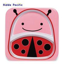 Skip Hop จานดีไซน์น่ารัก Zoo Divided Plate Ladybug Style