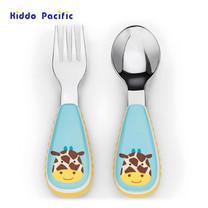 Skip Hop ชุดช้อน-ส้อม Zoo Tensils Fork & Spoon - Giraffe