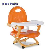 Chicco เก้าอี้ทานข้าวสำหรับเด็ก Pocket Snack Booster Seat - Mandarino