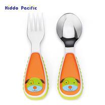 Skip Hop ชุดช้อน-ส้อม Zoo Tensils Fork & Spoon - Dog