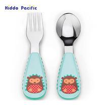 Skip Hop ชุดช้อน-ส้อม Zoo Tensils Fork & Spoon - Hedgehog