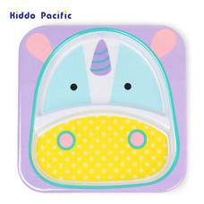 Skip Hop จานดีไซน์น่ารัก Zoo Divided Plate Unicorn Style