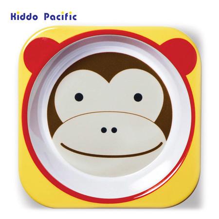 Skip Hop ชามดีไซน์น่ารัก Zoo Bowl Monkey Style
