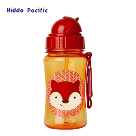 Skip hop กระติกน้ำ Zoo Straw Bottle Fox Style