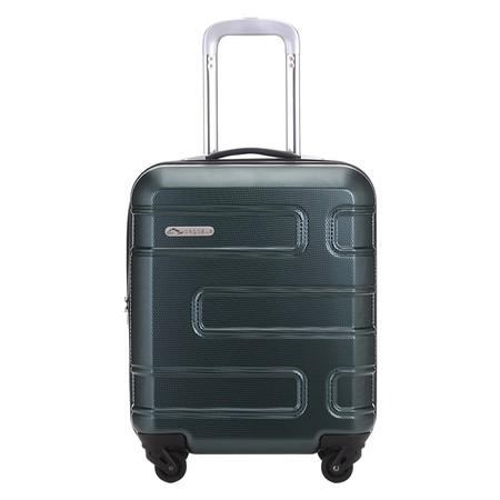 PEGASUS กระเป๋าเดินทางล้อลาก ขนาด 18 นิ้ว เหยียบไม่เเตก รุ่น NEW MORGAN PLUS TEXTURED HUNTER GREEN