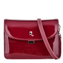 David Jones กระเป๋าสะพายไหล่ 9844 สีแดงเข้ม