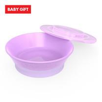 Twistshake Bowl ชามพร้อมฝาปิด - Purple