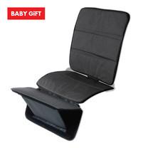แผ่นรองติดตั้งคาร์ซีทพร้อมที่วางเท้า Seat Protector With Footrest (Black)