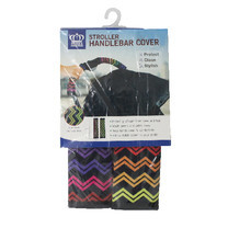 ปลอกมือจับสำหรับรถเข็นเด็ก Prince&Princess Stroller Handle Cover - 472 (Multicolor Stripe)