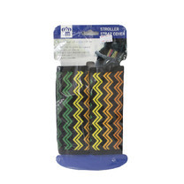 นวมหุ้มสายเบลล์สำหรับรถเข็นเด็ก คาร์ซีท Prince&Princess Stroller Strap Cover - 476 (Multicolor Stripe)