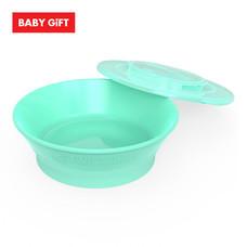 Twistshake Bowl ชามพร้อมฝาปิด - Green