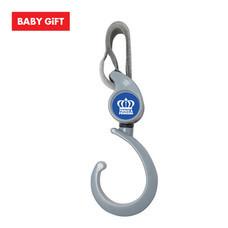 ที่แขวนของอเนกประสงค์สำหรับรถเข็นเด็ก Prince&Princess Stroller Hook (Grey)