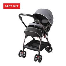รถเข็นเด็ก Aprica รุ่น Optia Premium - Gray