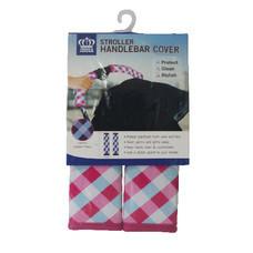 ปลอกมือจับสำหรับรถเข็นเด็ก Prince&Princess Stroller Handle Cover - 475 (Ginghaim Printed)