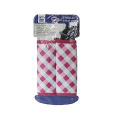 นวมหุ้มสายเบลล์สำหรับรถเข็นเด็ก คาร์ซีท Prince&Princess Stroller Strap Cover - 479 (Ginghaim Printed)