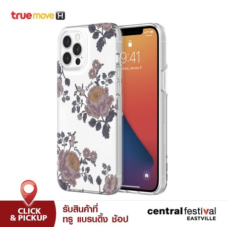เคส iPhone 12 Pro Max Coach ProtectiveShell - Flora Clear