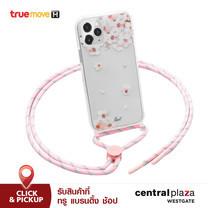 "LAUT เคส สำหรับ iPhone 12 Pro Max (6.5"") รุ่น CRYSTAL POP (NECKLACE) - Sakura"
