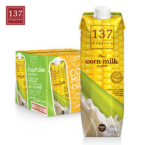 137ดีกรี Corn Milk Original (นมข้าวโพด สูตรดั้งเดิม)ขนาด 1000 มล. 1 ลัง มี 12 กล่อง