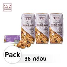 137 ดีกรี® นมวอลนัท สูตรดั้งเดิม ขนาด 180 มล. [1 ลัง บรรจุ 36 กล่อง]
