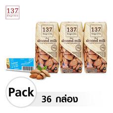 137 ดีกรี® นมอัลมอนด์ อันสวีทเทนด์ ขนาด 180 มล. [1 ลัง บรรจุ 36 กล่อง] ( No Halal ) หมดอายุเดือน 04-2021