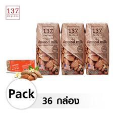 137 ดีกรี® นมอัลมอนด์ สูตรดั้งเดิม ขนาด 180 มล. [1 ลัง บรรจุ 36 กล่อง]วันหมดอายุสินค้า 24-03-2021