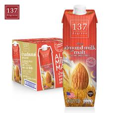 137ดีกรี Almond Milk with Malt (นมอัลมอนด์ สูตรมอลต์) ขนาด1000 มล. 1 ลัง มี 12 กล่อง