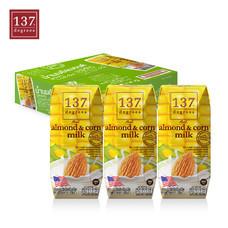 137ดีกรี Almond Milk with Corn Milk (นมอัลมอนด์ สูตรผสมนมข้าวโพด) ขนาด 180 มล. 1 ลัง มี 36 กล่อง