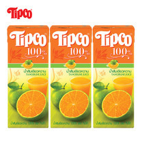 น้ำส้มเขียวหวาน 100% ขนาด 200 มล. แพ็ก 3