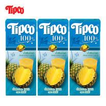 น้ำสับปะรด 100% ขนาด 200 มล. แพ็ก 3