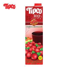 น้ำแครนเบอร์รี่ผสมน้ำผลไม้รวม 100% ขนาด 1000 มล.