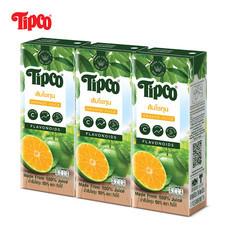 น้ำส้มโชกุน 100% ขนาด 200 มล. แพ็ก 3