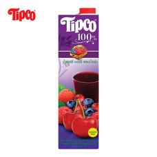 น้ำเชอร์รี่เบอร์รี่ผสมน้ำองุ่น 100% ขนาด 1000มล.